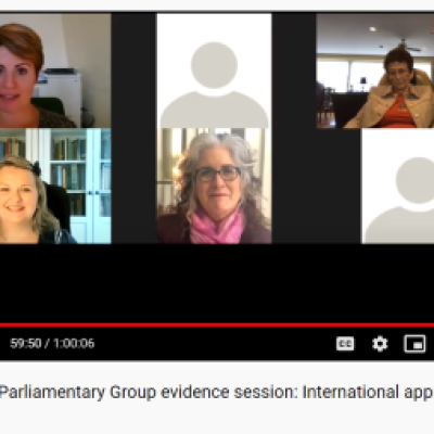 Oracy APPG screen shot